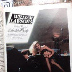 Coleccionismo de Revistas y Periódicos: AUNCIO WHISKY WILLIAM LAWSONS. Lote 222684720