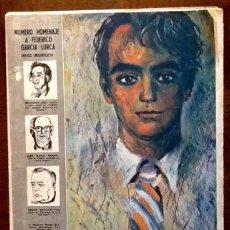 Coleccionismo de Revistas y Periódicos: PERIODICO ABC 1986. HOMENAJE A GARCIA LORCA. ENVIO CERTIFICADO INCLUIDO.. Lote 222684826