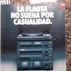 Coleccionismo de Revistas y Periódicos: ANUNCIO TELEFUNKEN MINI CADENA. Lote 222685378