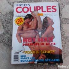 Coleccionismo de Revistas y Periódicos: COUPLES DE HUSTLER´S Nº 7 ,REVISTA EROTICA SOLO PARA ADULTOS ,HOLANDESA. Lote 222720657