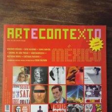Coleccionismo de Revistas y Periódicos: REVISTA ARTECONTEXTO. Lote 222899296