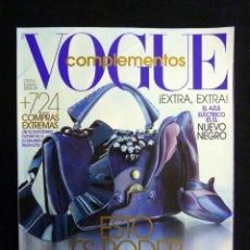 Collectionnisme de Revues et Journaux: REVISTA VOGUE ESPAÑA. COMPLEMENTOS Nº 15, OTOÑO-INVIERNO 2008-2009. Lote 223666687