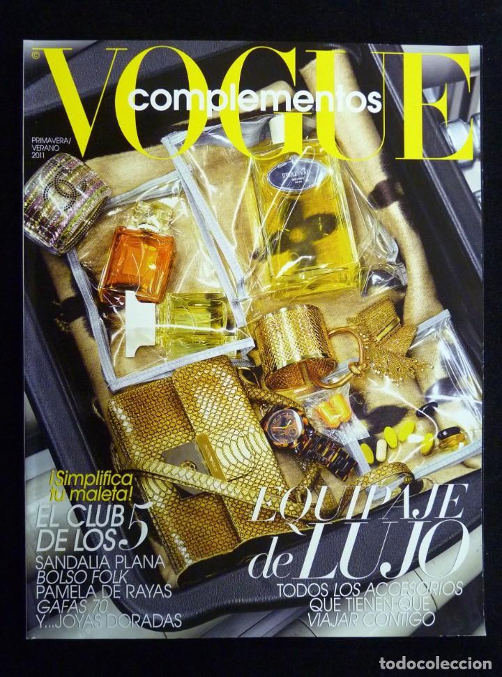 REVISTA VOGUE ESPAÑA. COMPLEMENTOS Nº 20, PRIMAVERA-VERANO 2011 (Coleccionismo - Revistas y Periódicos Modernos (a partir de 1.940) - Otros)