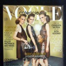 Colecionismo de Revistas e Jornais: REVISTA VOGUE ESPAÑA. COLECCIONES Nº 21, OTOÑO-INVIERNO 2009-2010. Lote 223673201