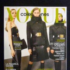Colecionismo de Revistas e Jornais: REVISTA VOGUE ESPAÑA. COLECCIONES Nº 29, OTOÑO-INVIERNO 2013. Lote 223677146