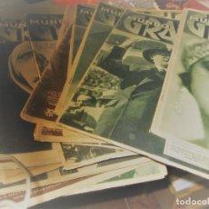 Collezionismo di Riviste e Giornali: LOTE 18 PERIODICO MUNDO GRAFICO - 1935 1931-1933-1932-1936-1930-1929-1934. Lote 223757121
