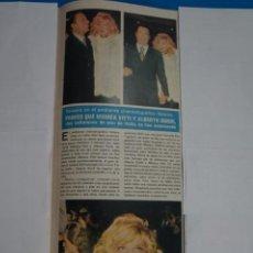 Coleccionismo de Revistas y Periódicos: RECORTE CLIPPING DE MONICA VITTI Y ALBERTO SORDI REVISTA SEMANA Nº 1823 PAG. 51 L1. Lote 223889898