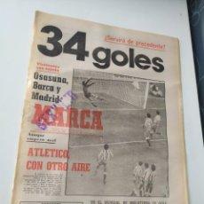Coleccionismo de Revistas y Periódicos: DIARIO MARCA 12 - 10 - 1981. Lote 223891641