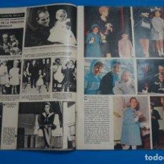 Coleccionismo de Revistas y Periódicos: RECORTE CLIPPING DE CAROLINA DE MONACO REVISTA SEMANA Nº 1823 PAG. 14 AL 19 L1. Lote 223891802