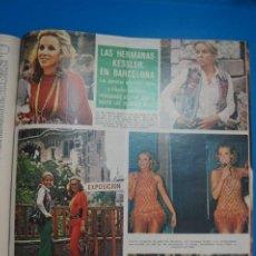 Coleccionismo de Revistas y Periódicos: RECORTE CLIPPING DE LAS HERMANAS KESSLER REVISTA SEMANA Nº 1691 PAG. 50 L2. Lote 223936606