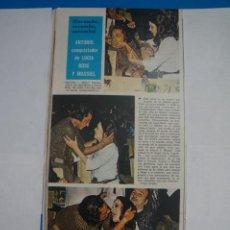 Coleccionismo de Revistas y Periódicos: RECORTE CLIPPING DE ANTONIO EL BAILARIN REVISTA SEMANA Nº 1691 PAG. 42 L2. Lote 223937165