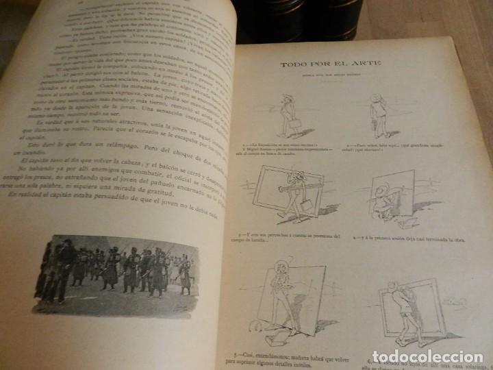 Coleccionismo de Revistas y Periódicos: LA ILUSTRACION MODERNA - TRES VOLÚMENES 1892 I - 1893 II 1893 III - Foto 5 - 224097067