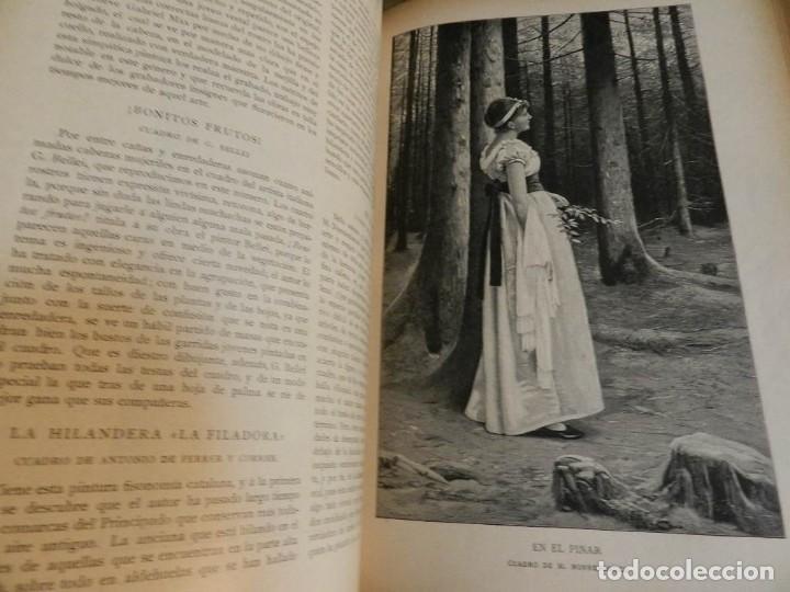 Coleccionismo de Revistas y Periódicos: LA ILUSTRACION MODERNA - TRES VOLÚMENES 1892 I - 1893 II 1893 III - Foto 8 - 224097067