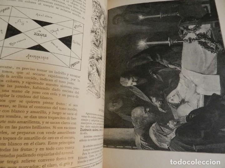 Coleccionismo de Revistas y Periódicos: LA ILUSTRACION MODERNA - TRES VOLÚMENES 1892 I - 1893 II 1893 III - Foto 9 - 224097067