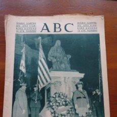 Coleccionismo de Revistas y Periódicos: ABC II REPÚBLICA, FRANKLIN, JUNÍPERO SERRA, CINE. Lote 224220463