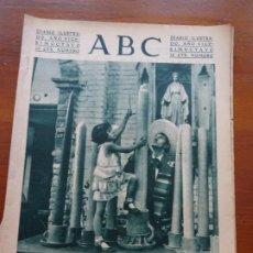 Coleccionismo de Revistas y Periódicos: ABC II REPÚBLICA, VELAS MÉJICO, GANADERÍA. Lote 224223591