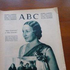Coleccionismo de Revistas y Periódicos: ABC II REPÚBLICA, MISS CATALUÑA CANARIAS, PROYECTO CONGREGACIONES, SUCESOS GOLPE 10 AGOSTO, CINE. Lote 224224065