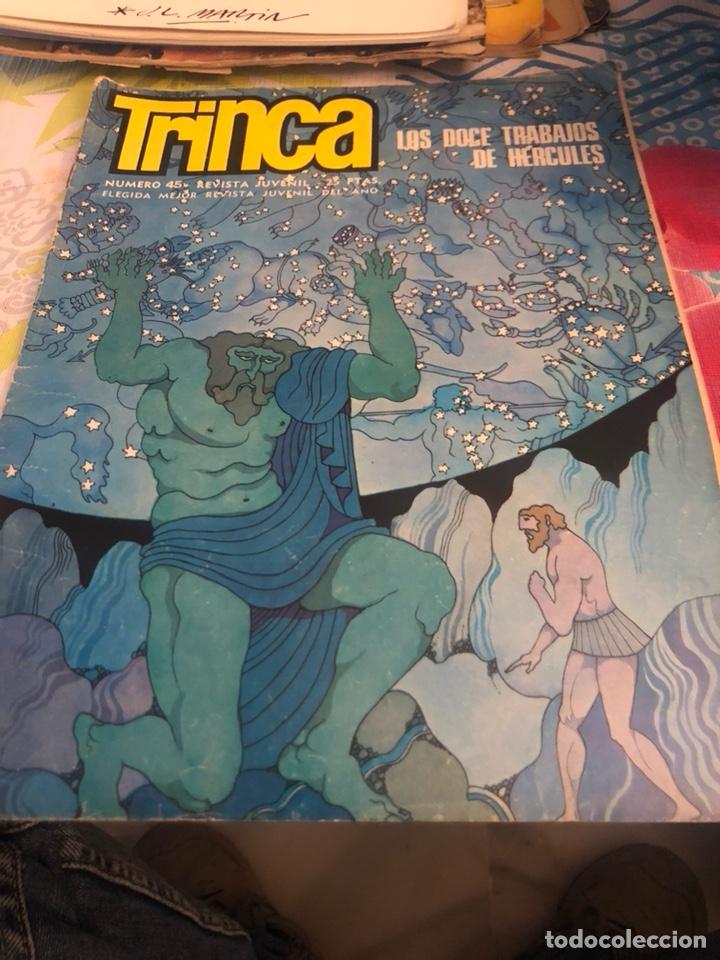 REVISTA JUVENIL LA TRINCA (Coleccionismo - Revistas y Periódicos Modernos (a partir de 1.940) - Otros)