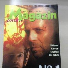 Colecionismo de Revistas e Jornais: MAGAZIN POSTAL. AÑO 1. NÚM. 1 (ABRIL 1997). Lote 224415240