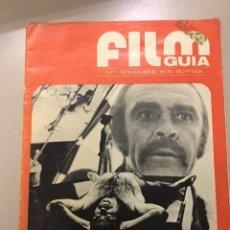 Colecionismo de Revistas e Jornais: FILM GUÍA. NÚM. 1 (NOVIEMBRE 1974). Lote 224620860