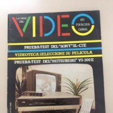 Colecionismo de Revistas e Jornais: LA SAGA DEL VÍDEO. AÑO 1. NÚM. 1 (1981). Lote 224632001