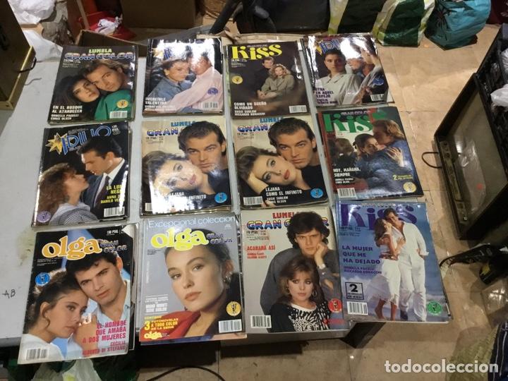 Coleccionismo de Revistas y Periódicos: Lote de 127 (25kg) revista antiguas Olga . Idilio.kiss ....ver fotos para coleccionar o revender - Foto 3 - 224665140