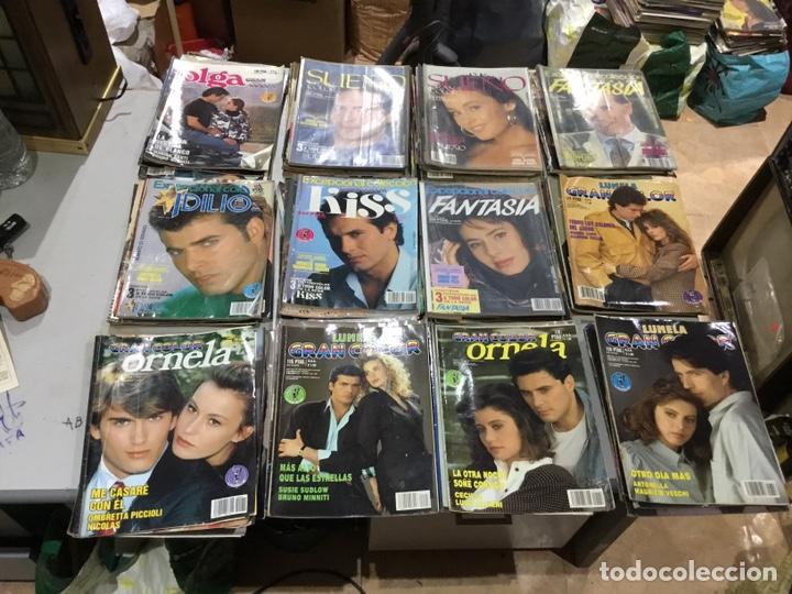 Coleccionismo de Revistas y Periódicos: Lote de 127 (25kg) revista antiguas Olga . Idilio.kiss ....ver fotos para coleccionar o revender - Foto 8 - 224665140