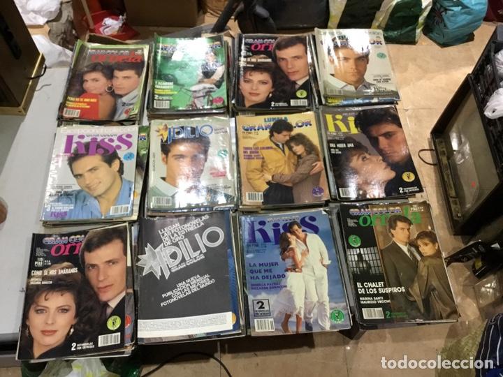 Coleccionismo de Revistas y Periódicos: Lote de 127 (25kg) revista antiguas Olga . Idilio.kiss ....ver fotos para coleccionar o revender - Foto 10 - 224665140