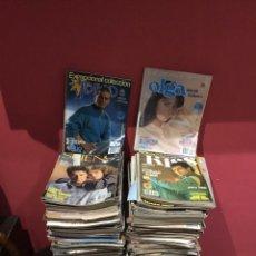Coleccionismo de Revistas y Periódicos: LOTE DE 138 (29.100) REVISTAS ANTIGUAS OLGA .KISS Y OTRAS VER FOTOS PARA COLECCIONAR O REVENDER. Lote 224666057