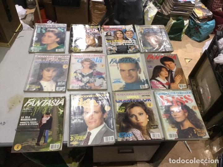 Coleccionismo de Revistas y Periódicos: Lote de 132 (29.850 kg ) revistas antiguas Olga .kiss y otras ver fotos para coleccionar o revender - Foto 2 - 224666510