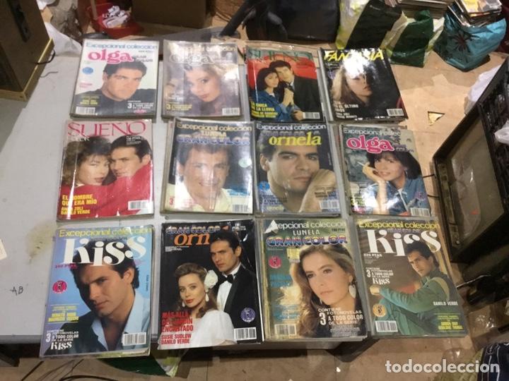 Coleccionismo de Revistas y Periódicos: Lote de 132 (29.850 kg ) revistas antiguas Olga .kiss y otras ver fotos para coleccionar o revender - Foto 3 - 224666510