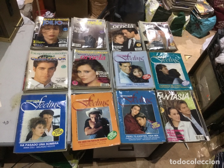 Coleccionismo de Revistas y Periódicos: Lote de 132 (29.850 kg ) revistas antiguas Olga .kiss y otras ver fotos para coleccionar o revender - Foto 4 - 224666510