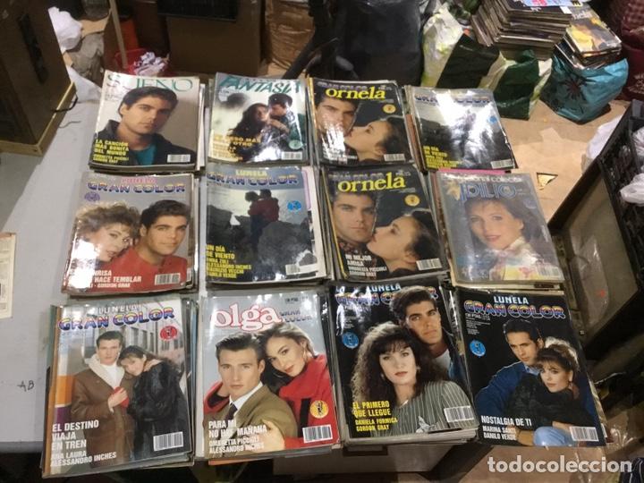 Coleccionismo de Revistas y Periódicos: Lote de 132 (29.850 kg ) revistas antiguas Olga .kiss y otras ver fotos para coleccionar o revender - Foto 9 - 224666510