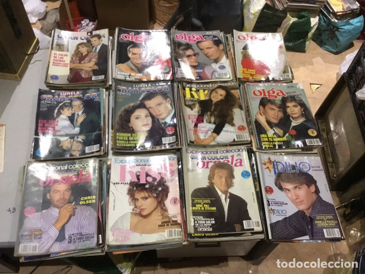 Coleccionismo de Revistas y Periódicos: Lote de 132 (29.850 kg ) revistas antiguas Olga .kiss y otras ver fotos para coleccionar o revender - Foto 11 - 224666510