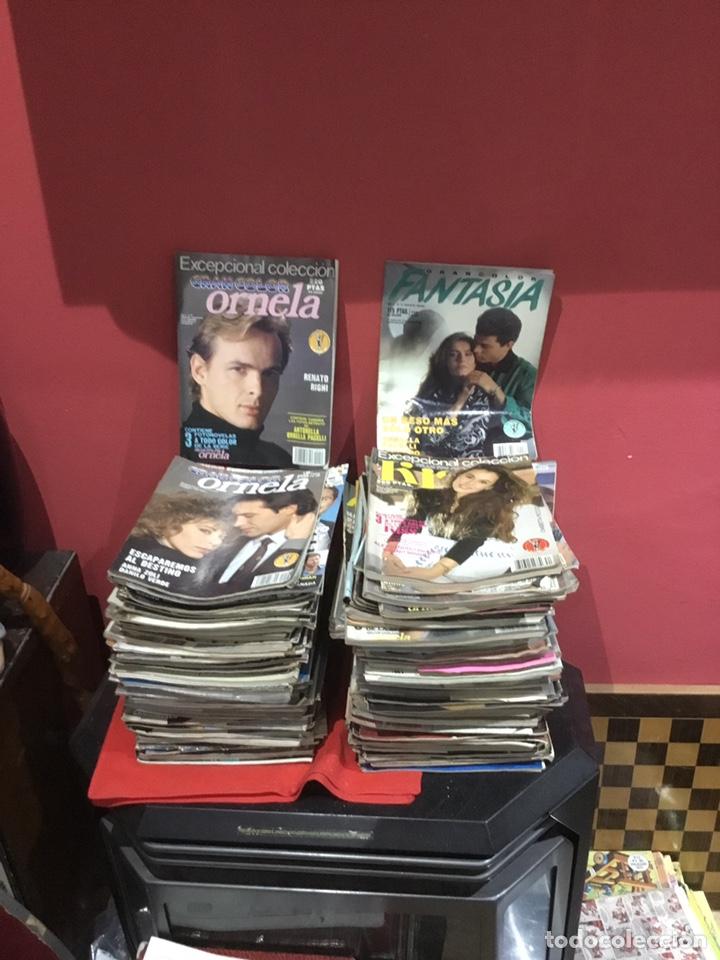 Coleccionismo de Revistas y Periódicos: Lote de 132 (29.850 kg ) revistas antiguas Olga .kiss y otras ver fotos para coleccionar o revender - Foto 13 - 224666510