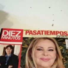 Coleccionismo de Revistas y Periódicos: G-54 REVISTA DIEZ MINUTOS 3584 ANA OBREGON. Lote 224671203