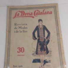 Coleccionismo de Revistas y Periódicos: REVISTA LA DONA CATALANA 1926. Lote 224705508