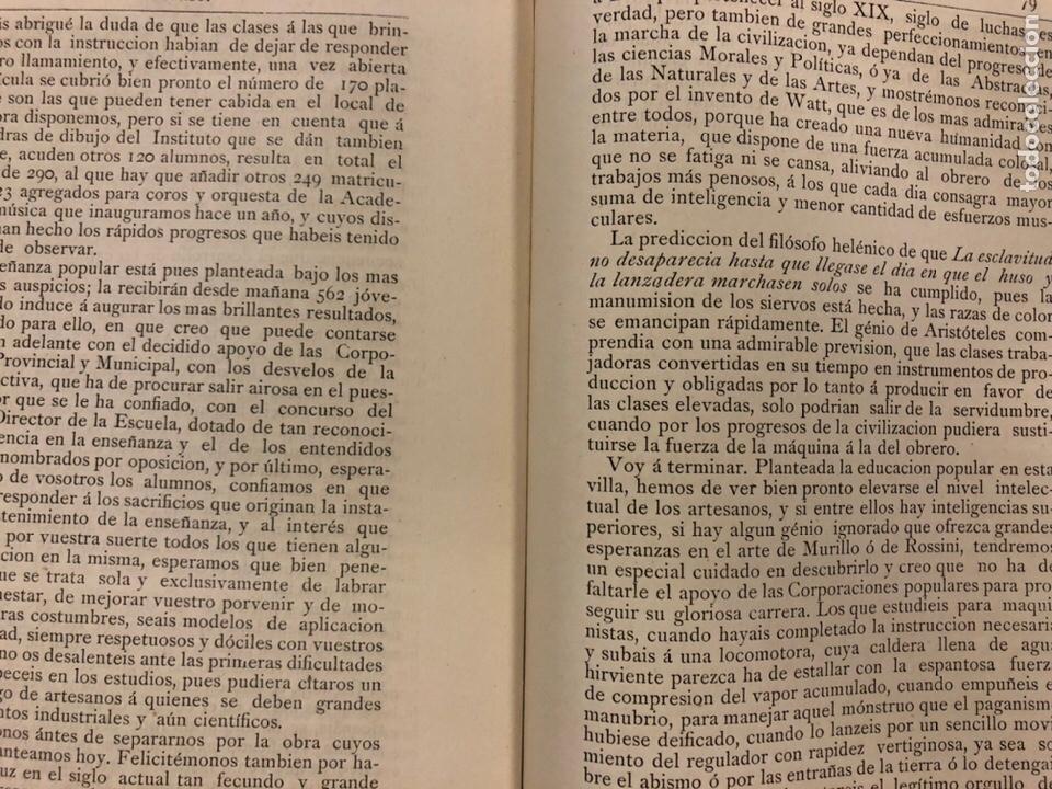 Coleccionismo de Revistas y Periódicos: REVISTA DE LAS PROVINCIAS EUSKARAS TOMO III N° 3 (1879). DIRIGE: FERMÍN HERRÁN. PABLO DE ALZOLA - Foto 3 - 225010045
