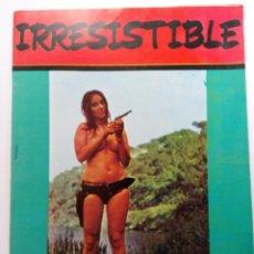 Coleccionismo de Revistas y Periódicos: IRRESISTIBLE Nº 32 - EDICIONES MAISAL (FOTONOVELA) (SIN USAR, DE DISTRIBUIDORA). Lote 225155028