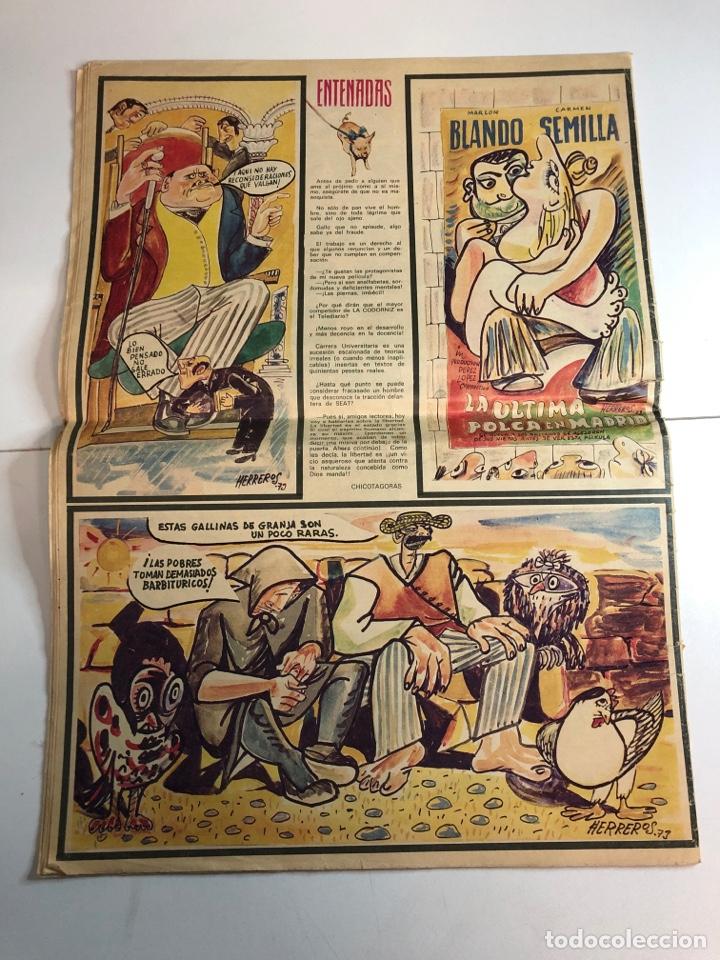 Coleccionismo de Revistas y Periódicos: La codorniz década de prensa humorística (8 de julio de 1973)número 1633 - Foto 4 - 225173445