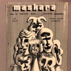 Coleccionismo de Revistas y Periódicos: MASKARA N° 3 (VITORIA 1982). HISTÓRICO FANZINE ORIGINAL; ENTREVISTAS, MÚSICA, CÓMIC, CINE,.... Lote 225295980