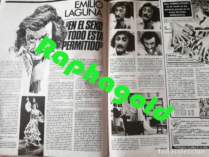 Coleccionismo de Revistas y Periódicos: Revista PARTY nº 108 Emilia Rubio Yeda Brown Pierrot Emilio Laguna Ilona Staller Antonio Amaya GAY - Foto 6 - 225728202