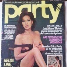 Coleccionismo de Revistas y Periódicos: REVISTA PARTY Nº 111 HELGA LINE BARBARA BOUCHET LOLA MARTINEZ LILIAN DE CELIS ANTONIO AMAYA GAY. Lote 225736758