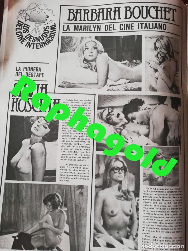 Coleccionismo de Revistas y Periódicos: Revista PARTY nº 111 Helga Line Barbara Bouchet Lola Martinez Lilian de Celis Antonio Amaya Gay - Foto 2 - 225736758