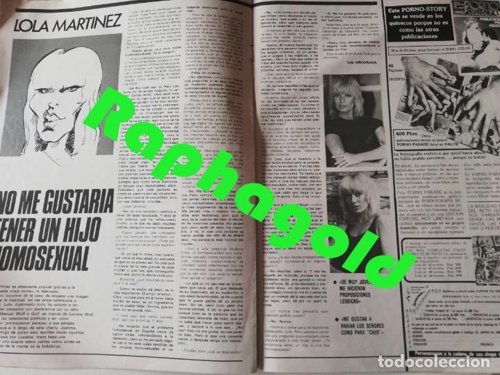 Coleccionismo de Revistas y Periódicos: Revista PARTY nº 111 Helga Line Barbara Bouchet Lola Martinez Lilian de Celis Antonio Amaya Gay - Foto 5 - 225736758