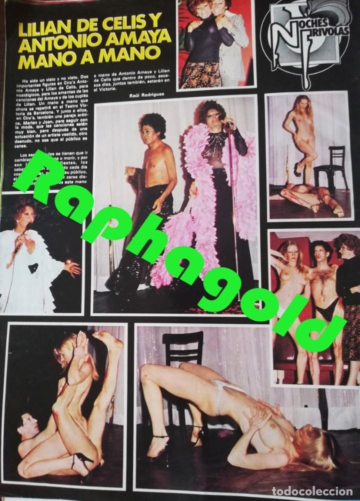 Coleccionismo de Revistas y Periódicos: Revista PARTY nº 111 Helga Line Barbara Bouchet Lola Martinez Lilian de Celis Antonio Amaya Gay - Foto 7 - 225736758