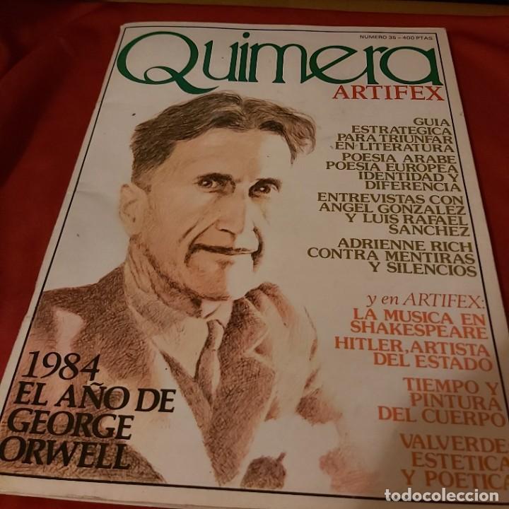 QUIMERA. N NÚMERO 35. REVISTA MENSUAL ENERO 1984. (Coleccionismo - Revistas y Periódicos Modernos (a partir de 1.940) - Otros)