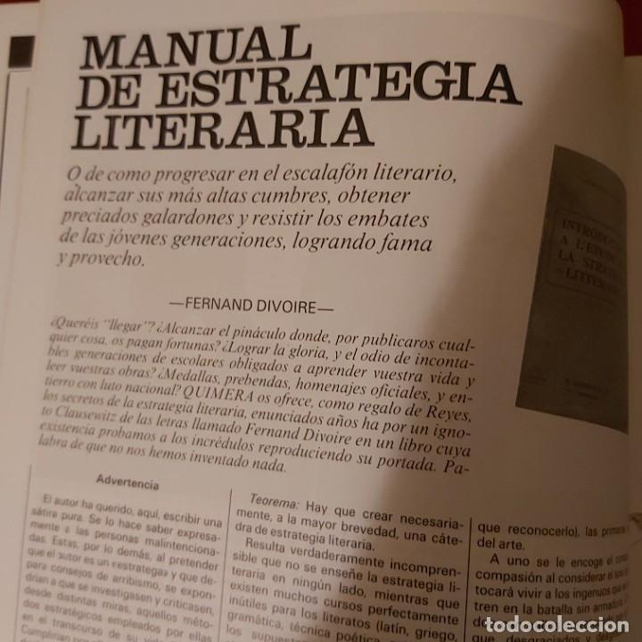 Coleccionismo de Revistas y Periódicos: Quimera. N número 35. Revista mensual enero 1984. - Foto 2 - 226138795