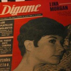 Coleccionismo de Revistas y Periódicos: LINA MORGAN PAUL MCCARTNEY BEATLES MERCEDES VECINO NILDA ALVAREZ 1969. Lote 226377520