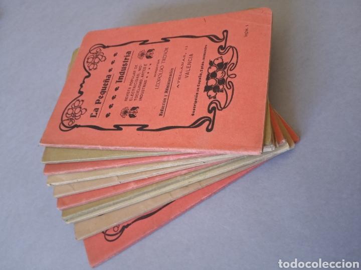Coleccionismo de Revistas y Periódicos: LA PEQUEÑA INDUSTRIA revista popular de electricidad, motociclismo, artes e industrias 1902 - Foto 6 - 226402725